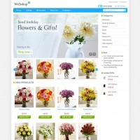 Flowers CS-Cart Theme
