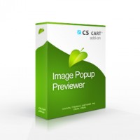 Product Image Popup Previewer CS-Cart addon