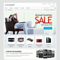 Elegant CS-Cart Template Set