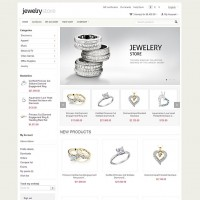 Jewelry CS-Cart template