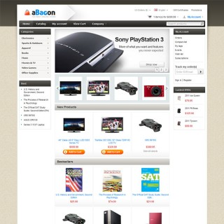 aBagon CS-Cart Theme