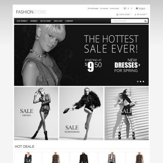 Fashion CS-Cart Template