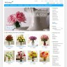 Flowers Zen Cart template