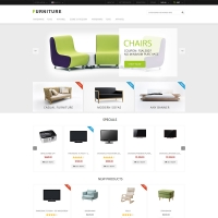 Furniture PSD ecommerce template