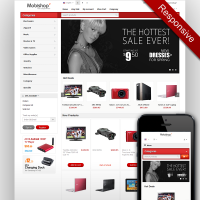 Responsive CS-Cart Template