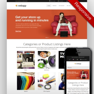 Responsive CS-Cart Theme